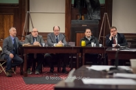 Todd Maisel, NYPPA and Daily News, Bruce Cotler, Photographer Daily News and President of NYPPA, Steve Scott WCBS Newsradio 880 and President of The New York Press Club, Vehicle managers CBS NEWS and CBS NEWS New York completed the panel of 4.