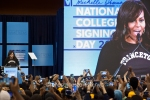 042616_Michelle Obama 2016 COLLEGE SIGNING DAY EVENT IN  Harlem NEWYORK_3368